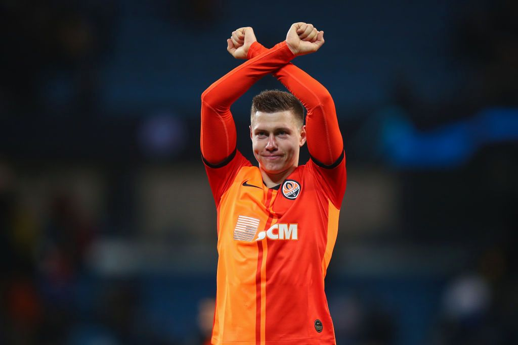 Target Arsenal Mykola Matviyenko Senilai £ 30 juta Oleh Shakhtar Donetsk